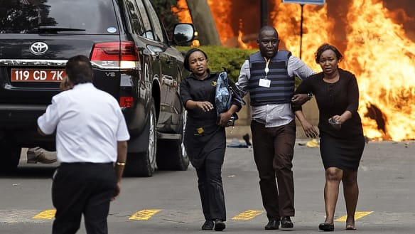 'No further threat': Kenya authorities secure Nairobi hotel as death count begins