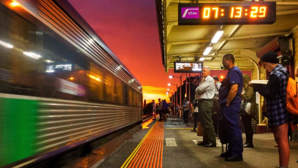 Trains on some regional lines rarely on time, data shows