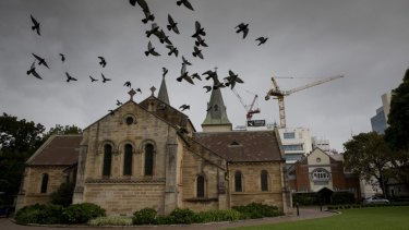 The walk will take in historic buildings in the heart of Parramatta.