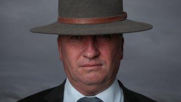 Barnaby Joyce threatens to go rogue.