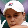Barty on guard against Wimbledon ambush at hands of former conqueror