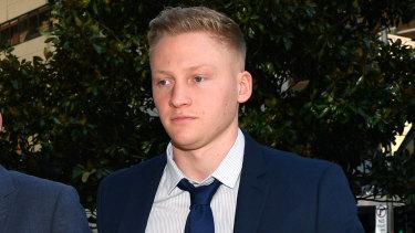 Sam Oliver outside court last September