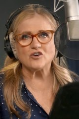 Nancy Cartwright teaches voice acting.