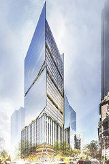 Charter Hall Group has bought 555 Collins Street (on the corner of King Street).