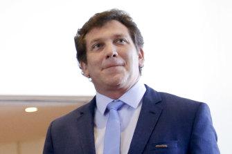 CONMEBOL president Alejandro Dominguez.