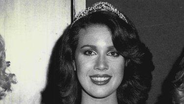 Anita Cobby, winner of Miss Western Suburbs in 1979.