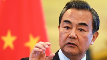 Chinese Foreign Minister Wang Yi could test Marise Payne.