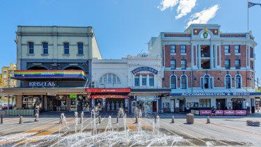 Moelis has taken control of Taylor Square after buying Kinselas and the Courthouse Hotel.