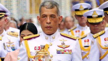 King Maha Vajiralongkorn took the throne two years ago after the death of his father.