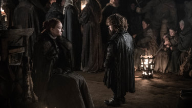 Sansa and Tyrion ponder what might have been.