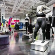 "Nike's ""obese"" mannequins."