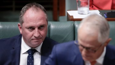 "Barnaby Joyce's depiction of the voice as a ""third chamber"" was adopted by others, including Malcolm Turnbull."