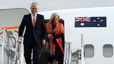 Malcolm Turnbull says he didn't ask for an entitlement to taxpayer funded overseas travel when on government business.