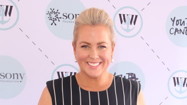 Samantha Armytage is often the subject of tabloid stories.