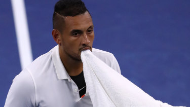 Flamboyant: Nick Kyrgios has the game, but not the temperament – at least not without discipline, says Rod Laver.