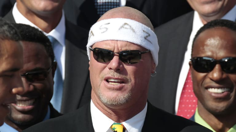 Back on: File photo of former Chicago quarterback Jim McMahon. A US appeals court has revived a lawsuit against the NFL by former players, including McMahon.