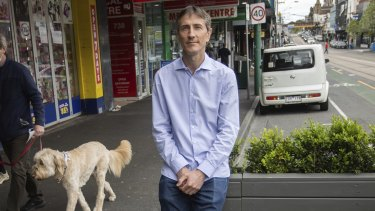 Researcher Chris De Gruyter says on-street parking should be converted where suitable.