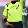 Italian referee banned for a year after headbutting goalkeeper
