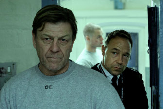 Sean Bean plays a school teacher sentenced to prison for a drink-driving accident, while Stephen Graham is a warden facing a profound dilemma in the miniseries Time.