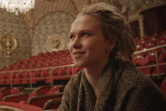 "Alissija-Elisabet Jevtjukova in the Estonian film ""A Year Full of Drama""."