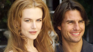 Nicole Kidman and Tom Cruise in September 1999.
