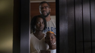 Lupita Nyong'o, Winston Duke and Evan Alex.