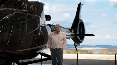 John Wagner - boss of Toowoomba's Wellcamp Airport.