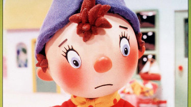 Enid Blyton's character Noddy.