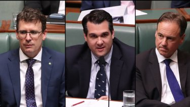 Alan Tudge, Michael Sukkar and Greg Hunt narrowly avoided being charged with contempt of court in 2017 after accusing Victorian judges of being soft on terrorists.