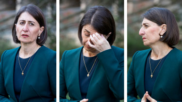 For NSW Premier Gladys Berejiklian, it has been the most tumultuous week of her life.