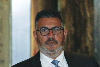 Crown director and former AFL boss  Andrew Demetriou was among three directors who quit the gambling company's board this week.
