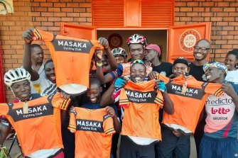 The Masaka Cycling Club in Uganda