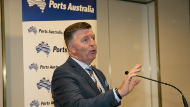 "Ports Australia CEO Mike Gallacher labelled the tie-up ""a massive step forward"" in connecting the sector across the region."