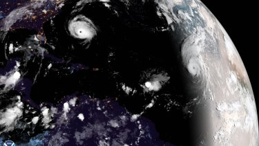 The US Atlantic coast is preparing for hurricane Florence's expected landfall.