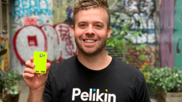 Pelikin founder Sam Brown.