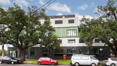 CRS has leased the commercial spaces at 243 Flemington Road in North Melbourne.