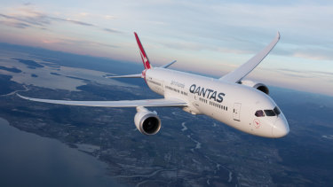 Qantas's profits have taken off last year.