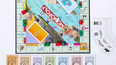 Monopoly has been recreated by the Park Hyatt Hotel.