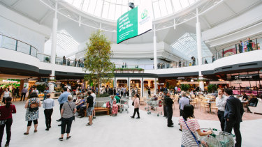 "The shopping centre operator said it would plough the proceeds into what it called ""transformative developments"" including The Glen in Melbourne."
