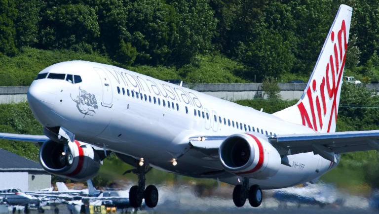 The plane was forced to return to Auckland Airport after the incident.