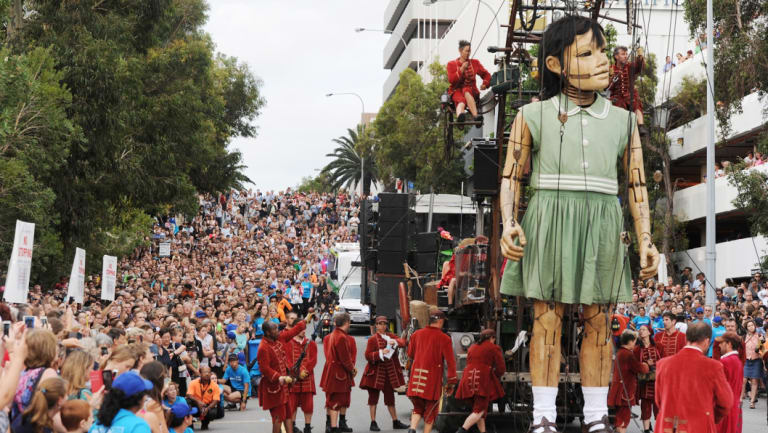 The Giants in Perth.