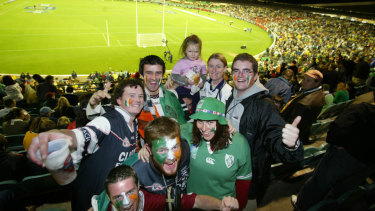 Irish at the 'G.
