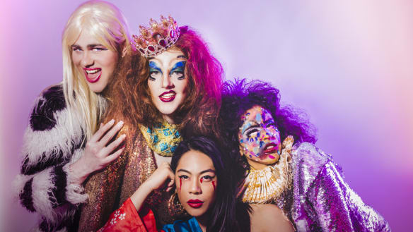 Lou Wall's Drag Race dazzles with sequins, sex and politics