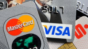 Credit card interest rates that are still averaging a punitive 17.3 per cent.