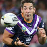 Giant-killing Wests Tigers stun Storm in Billy Slater's 300th match