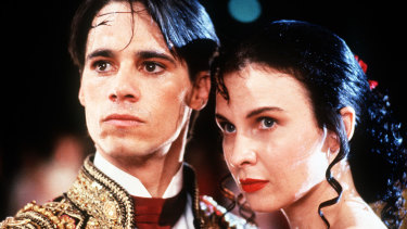 Paul Mercurio and Tara Morice in Strictly Ballroom.