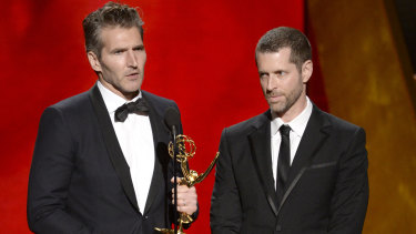 Game of Thrones showrunners David Benioff and D.B. Weiss.