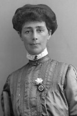 Australian suffragist Vida Goldstein was welcomed in the US as something of a celebrity.