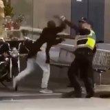 Police confrontBourke Street attacker Hassan Khalif Shire Ali.