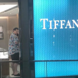 George Christensen was spotted at Tiffany & Co in Sydney on Monday.